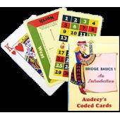 Audrey Coded Cards - Bridge Basics 1 - An Introduction